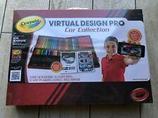 Crayola Virtual Design Pro Car Collection Printable app Stencils 60 markers pens