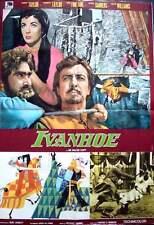 IVANHOE Italian 1F movie poster R72 ELIZABETH TAYLOR ROBERT JOANNE FONTAINE