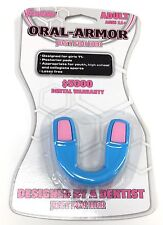New Franklin Sports Oral-Armour Just For Her Mouthguard Ages 11+ blue