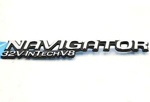 NEW OEM Ford Navigator 32V InTech V8 Liftgate Badge XL7Z-7842528-AA 1999-2002