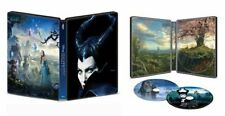 New! Disney's Maleficent Steelbook Edition (4K Ultra HD + Standard Blu-ray Disc)