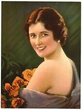 "1930s Glamour Girl art deco print 7.5"" x 10"" Ӝ"