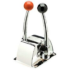 Single Engine Binnacle Mount Twin Lever Shift and Throttle Control Box for Boats