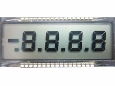2Pcs 7-SEGMENT LCD DISPLAY 4 DIGIT 34-PIN W/MINUS SIGN ON THE LCD DISPLAY
