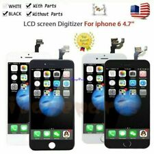 AAA+++ For iPhone 6 LCD Screen Touch Digitizer With Button&Camera Replacement
