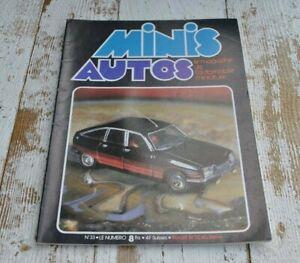Vintage Minis Auto Magazine issue 33 - Miniature car model - French