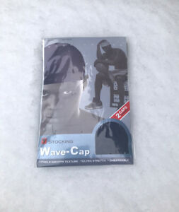 2 x DARK BLUE STOCKING WAVE CAP Flexible Breathable Sexy Wave Hat Headband