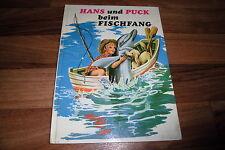 Hemma Verlag -- HANS und PUCK beim FISCHFANG // Bilderbuch von ca 1970er