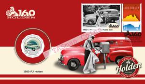 PNC Australia 2016 Holden 160 Years 1953 FJ Holden RAM 50c Coloured Coin
