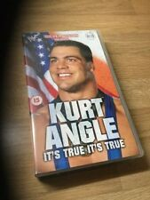 SilverVision WWF (WWE) Kurt Angle It's True VHS Video Rare Best Of