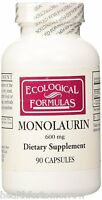 Ecological Formulas Monolaurin 600 mg 90 caps - Exp Date: 01/2020