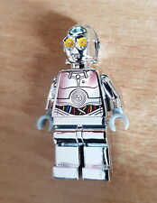 Lego Chrome Silver Protocol Droid TC-14 SW385 Star Wars Minifigure