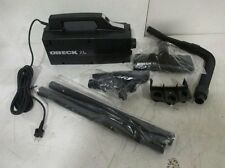 ORECK XL BB870 CANISTER VACUUM-- BLACK -- WITH ATTACHMENTS