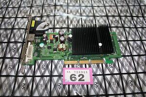 PNY Nvidia GeForce 6200 512MB AGP Silent Graphics Card Rare