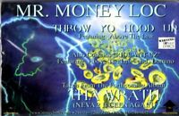 Mr Money Loc Throw Your Hood Up Rap Hiphop Cassette Tape Single New Sealed
