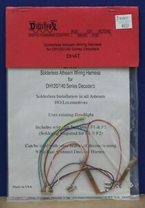 Digitrax 01053 DHAT Solderless Athearn Wiring Harness for DH120/140 Decoders New