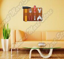 "Tool Pouch Box Construction Builder Wall Sticker Room Interior Decor 25""X20"""