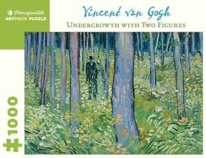 Van Gogh: Undergrowth-Two Figures 1000 Piece - Jigsaw Puzzle