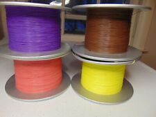 16 feet 34 AWG Silver Plated Copper PTFE Wire 4 Color assortment SPC Tonearm