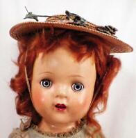 Madame Alexander Princess Elizabeth Doll Composition 17 in Original Dress & Hat