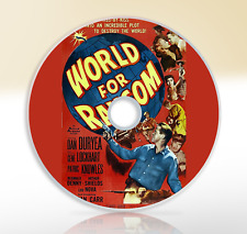 World For Ransom (1954) DVD Classic Thriller Movie Film Dan Duryea Gene Lockhart
