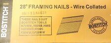 Stanley Bostitch 28 degree Framing Nails 100mm x 3.33 Zinc Coatings 2000 Nails