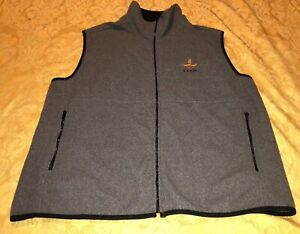 •Browning Gray And Black Full Zip Mens Size XL XLarge Vest