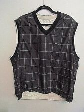 Dockers Golf Vest reversible stain defender full swing fit Nwot Xlarge