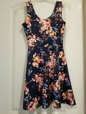 Junior's Derek Heart Small Floral Dress