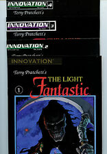 The Light Fantastic #1-4 set nm+ comic book Terry Pratchett Innovation 1992 L2