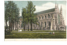 Postcard Winchester Cathedral Hampshire postmark 1910    (B4i)