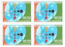 2001 Dialogue among civilizations - Madagasar - block of four