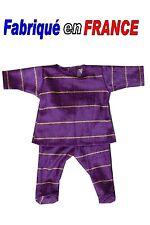 Ensemble pyjama NEUF pour Miss Corolle 36 cms Ref.violet