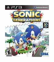 Sonic Generations (Sony PlayStation 3, 2011) MINT