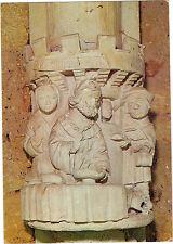 24 - cpsm - Le cloître de CADOUIN - Le pauvre Lazarre et le mauvais riche