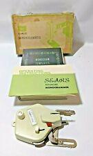 Vintage Sears Kenmore Monogrammer and Monogram Templates