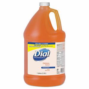 Dial Liquid Soap Refill Antibacterial 1 Gallon Original Gold DIA88047EA