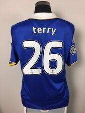 TERRY #26 Chelsea CL Final Football Shirt Jersey 2008 (L)