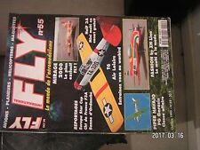 **a Fly magazine n°55 Plan encarté Half 3A / Fashion ZN LIne / T6 Air Loisirs
