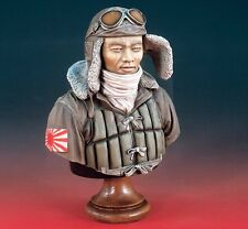 "Verlinden 1/5 ""Divine Wind"" Japanese Kamikaze Pilot WWII Bust [Resin Model] 1942"