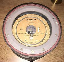Altitude Altimètre Keuffel Esser Wallace Tiernan Gauge enquête équipement
