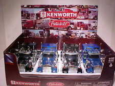 4 Pack Kenworth W900 Semi Tractor Truck Rig Cab Diecast 1:32 New Ray 12 inch