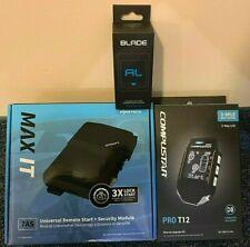 Compustar Pro T12 2-Way Alarm Remote Start 3 Mile Range & iDatalink Blade Al