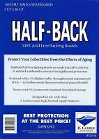 "E.Gerber 50 Half-Backs Silver/Golden Comic Size - 71/2"" X 10-1/2"""