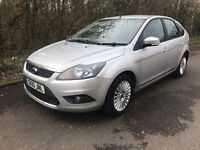 Ford focus 1.6 titanium one owner full services history 1 years mot