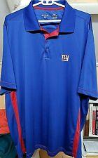 NFL NY Giants Men's short sleeve NY Giants NFL Polo shirt Size 2XL
