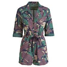Guess Women's Camouflage Print Jumpsuit PN: W92D96WBPV0