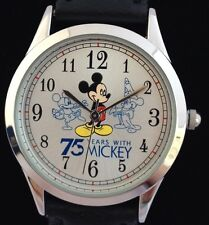 NEW DISNEY MICKEY MOUSE 75 YEARS WITH MICKEY ANNIVERSARY SPECIAL EDITION WATCH