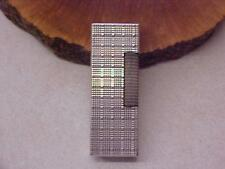 """DUNHILL """"ROLLAGAS"""" LIGHTER~ SWISS MADE ~ WORKING ~ SILVER PLATE??"""