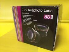 2.2X TELEPHOTO LENS 58mm SERIES 1,VIVITAR to CANON 55-250 90-300 70-300 75-300